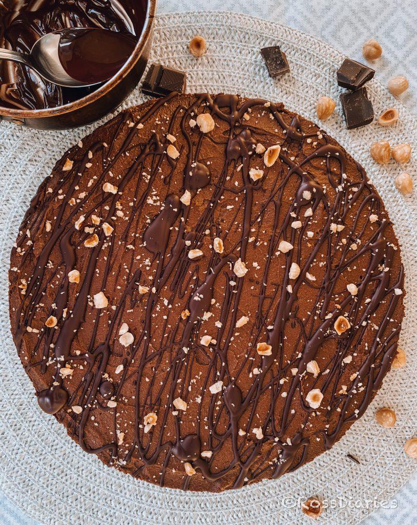 шоколадова торта без захар