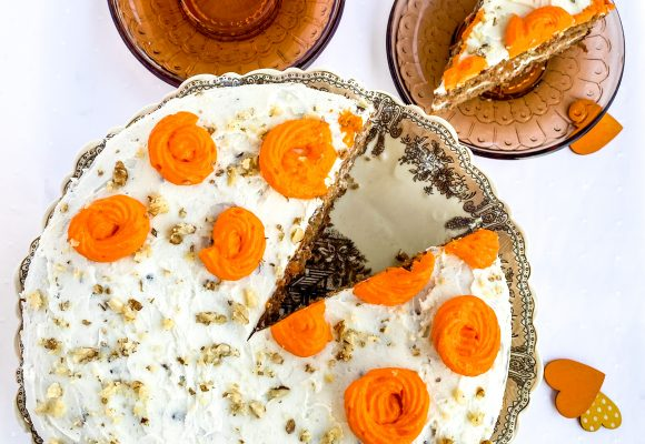 Здравословна морковена торта