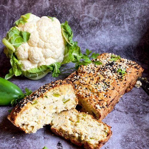 хлябот карфиол и нахутено брашно
