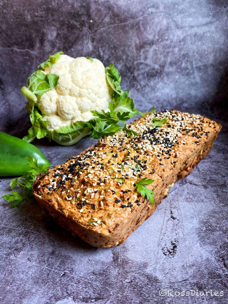 хляб от карфиол и нахутено брашно